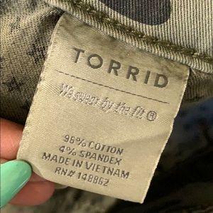 torrid Skirts - Torrid Twill Camo Skirt NWT Size 16